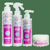 Pack Gamme Evolution | Soins Naturels Cheveux Crépus à l'Huile de Noix de Coco et Beurre de Karité