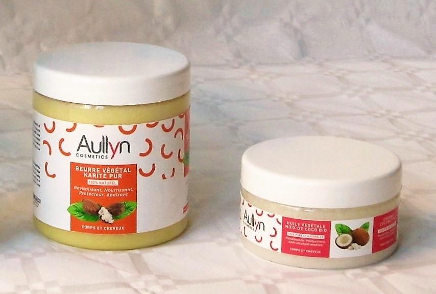 Beurre de Karité et d'huile de coco Bio | Soins Naturels Cheveux Crépus à l'Huile de Noix de Coco et Beurre de Karité