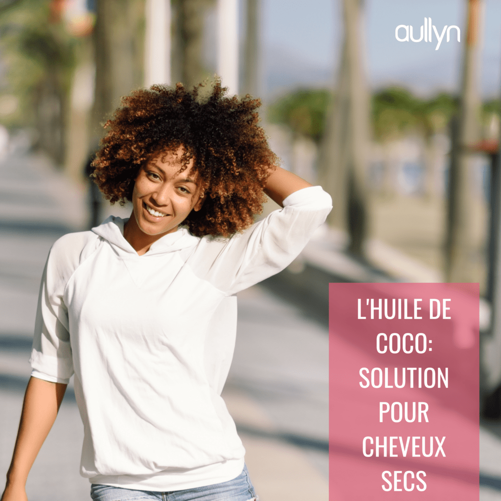 solution cheveux secs | Soins Naturels Cheveux Crépus à l'Huile de Noix de Coco et Beurre de Karité